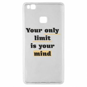Huawei P9 Lite Case Your only limit is your mind