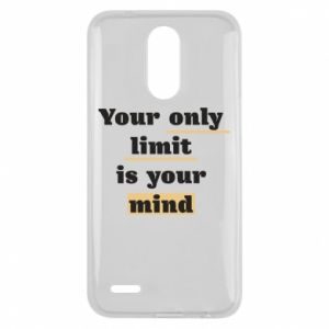 Lg K10 2017 Case Your only limit is your mind