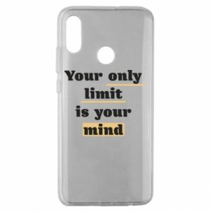 Huawei Honor 10 Lite Case Your only limit is your mind