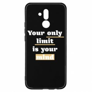 Huawei Mate 20Lite Case Your only limit is your mind