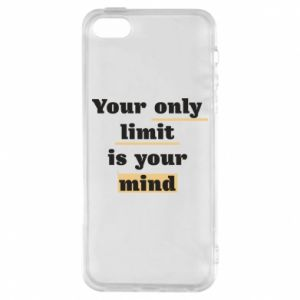 Etui na iPhone 5/5S/SE Your only limit is your mind