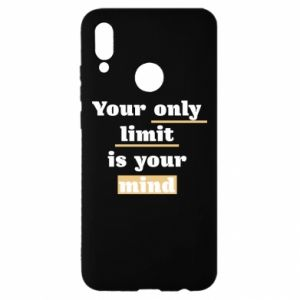Huawei P Smart 2019 Case Your only limit is your mind