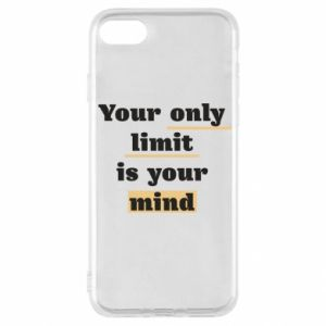iPhone SE 2020 Case Your only limit is your mind