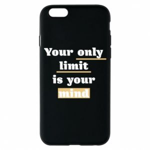 Etui na iPhone 6/6S Your only limit is your mind