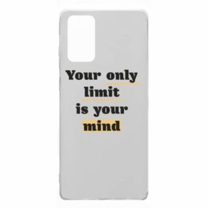 Samsung Note 20 Case Your only limit is your mind