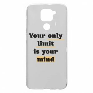 Xiaomi Redmi Note 9 / Redmi 10X case % print% Your only limit is your mind