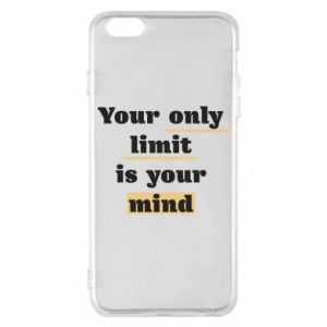 Etui na iPhone 6 Plus/6S Plus Your only limit is your mind