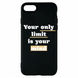 Etui na iPhone 7 Your only limit is your mind