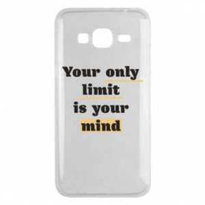 Etui na Samsung J3 2016 Your only limit is your mind