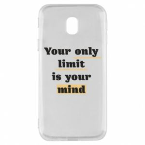 Etui na Samsung J3 2017 Your only limit is your mind
