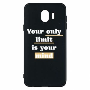 Etui na Samsung J4 Your only limit is your mind