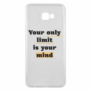 Etui na Samsung J4 Plus 2018 Your only limit is your mind