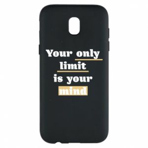 Etui na Samsung J5 2017 Your only limit is your mind