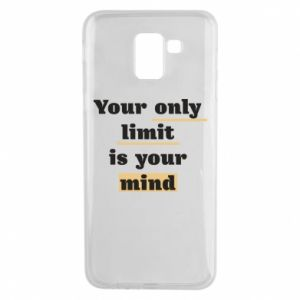 Etui na Samsung J6 Your only limit is your mind