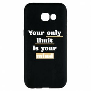 Etui na Samsung A5 2017 Your only limit is your mind