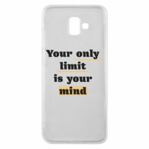Etui na Samsung J6 Plus 2018 Your only limit is your mind