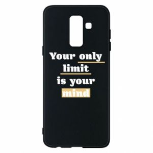 Etui na Samsung A6+ 2018 Your only limit is your mind