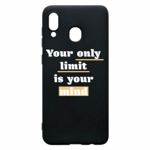 Etui na Samsung A30 Your only limit is your mind