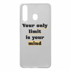 Etui na Samsung A60 Your only limit is your mind