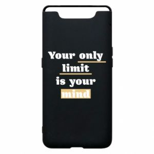 Etui na Samsung A80 Your only limit is your mind
