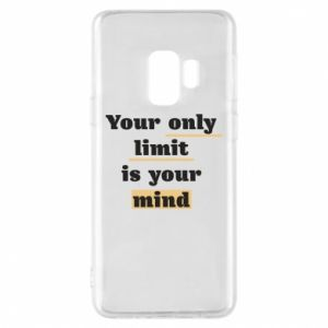 Etui na Samsung S9 Your only limit is your mind