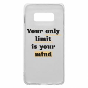 Etui na Samsung S10e Your only limit is your mind
