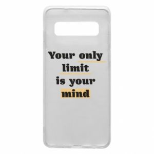 Etui na Samsung S10 Your only limit is your mind
