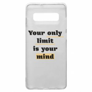 Etui na Samsung S10+ Your only limit is your mind