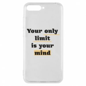 Etui na Huawei Y6 2018 Your only limit is your mind