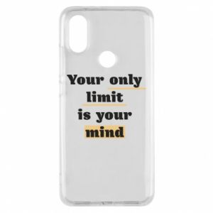 Etui na Xiaomi Mi A2 Your only limit is your mind