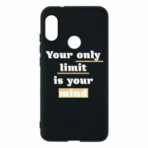 Etui na Mi A2 Lite Your only limit is your mind