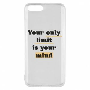 Etui na Xiaomi Mi6 Your only limit is your mind