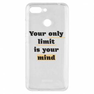 Etui na Xiaomi Redmi 6 Your only limit is your mind