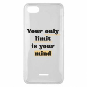 Etui na Xiaomi Redmi 6A Your only limit is your mind