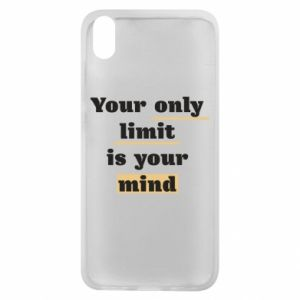 Etui na Xiaomi Redmi 7A Your only limit is your mind