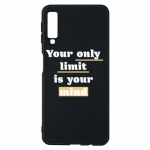 Etui na Samsung A7 2018 Your only limit is your mind