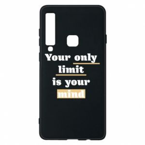 Etui na Samsung A9 2018 Your only limit is your mind
