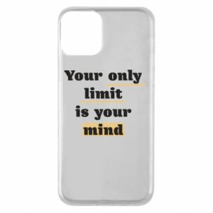 Etui na iPhone 11 Your only limit is your mind