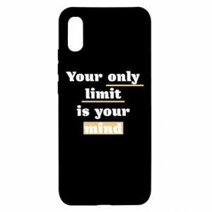 Xiaomi Redmi 9a Case Your only limit is your mind