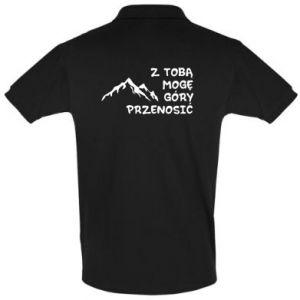 Koszulka Polo Z tobą mogę góry przenosić