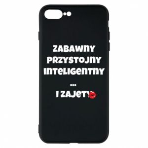 Phone case for iPhone 7 Plus Fun handsome intelligent ... and busy