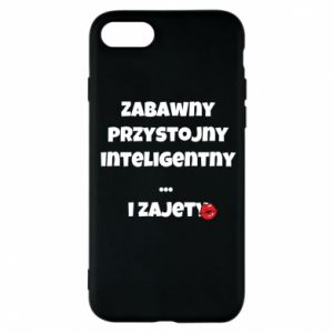 Phone case for iPhone 8 Fun handsome intelligent ... and busy