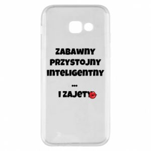 Phone case for Samsung A5 2017 Fun handsome intelligent ... and busy