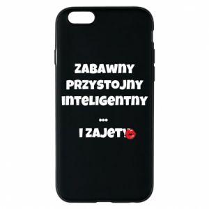 Etui na iPhone 6/6S Zabawny przystojny inteligentny... i zajety