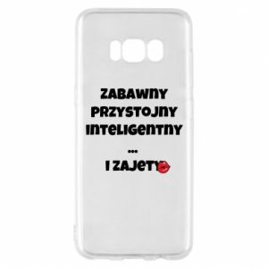 Phone case for Samsung S8 Fun handsome intelligent ... and busy