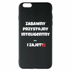 Phone case for iPhone 6 Plus/6S Plus Fun handsome intelligent ... and busy