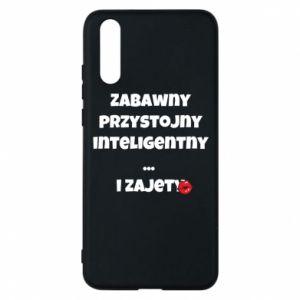 Etui na Huawei P20 Zabawny przystojny inteligentny... i zajety