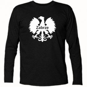 Koszulka z długim rękawem Zabrze heraldyczny orzeł
