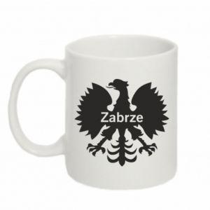 Mug 330ml Zabrze heraldic eagle