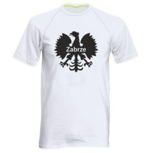 Koszulka sportowa męska Zabrze heraldyczny orzeł